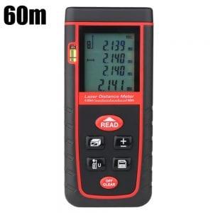 60m Handheld Laser Distance Meter Rangefinder